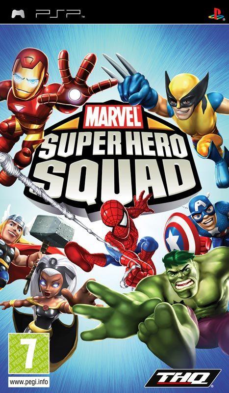Игру super hero squad